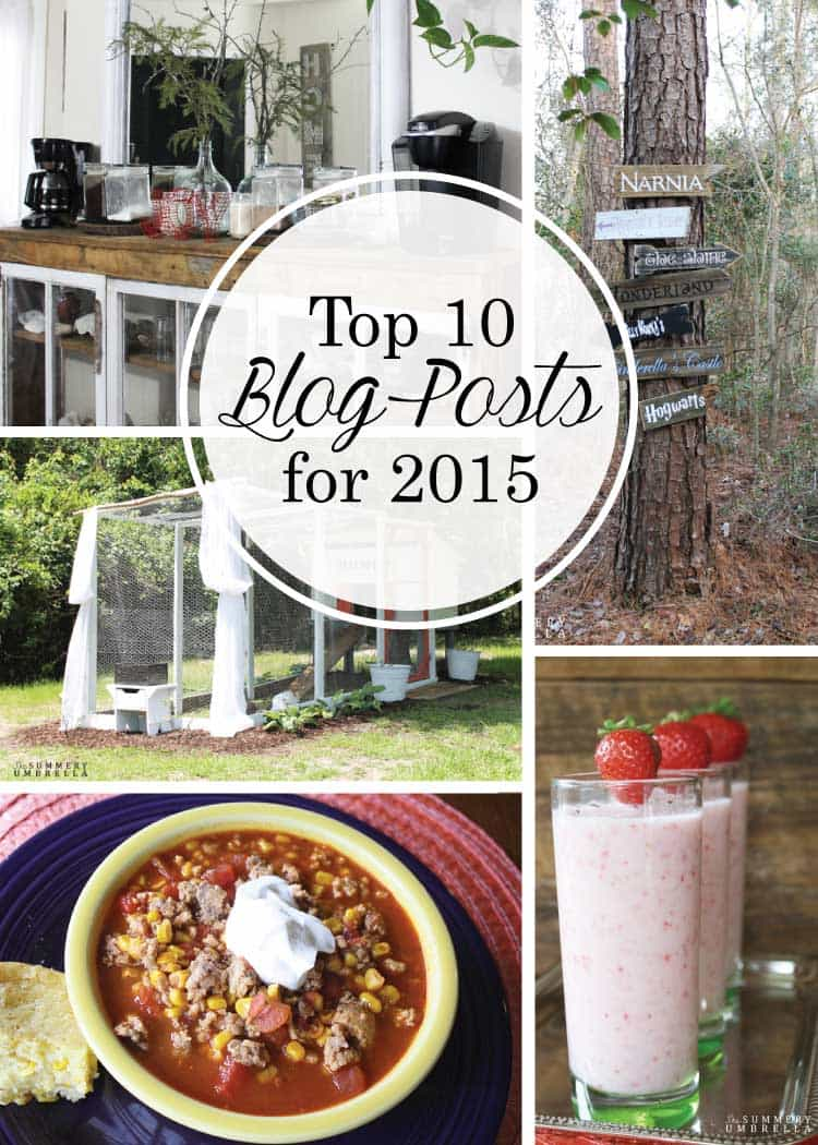 Can you believe that 2015 is over? I'm definitely excited to start a new year, but let's first check out these Top 10 TSU Posts for 2015! Must PIN for sure!