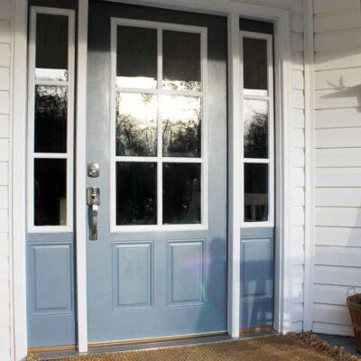 Our Shut the Front Door Upgrade!