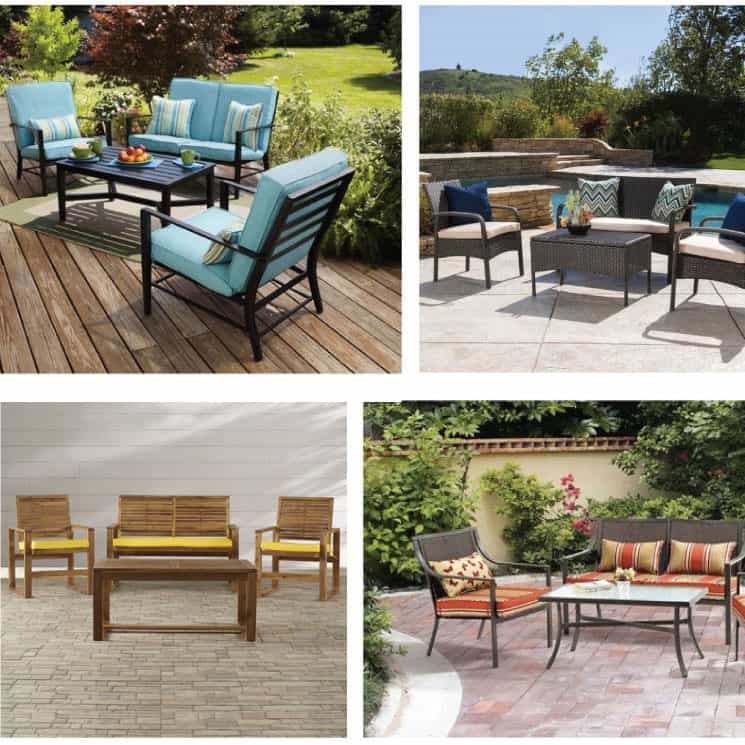 6 Gorgeous Patio Furniture Sets Under $500