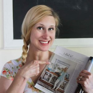 4 Things I Learned From My Better Homes and Gardens Photo Shoot