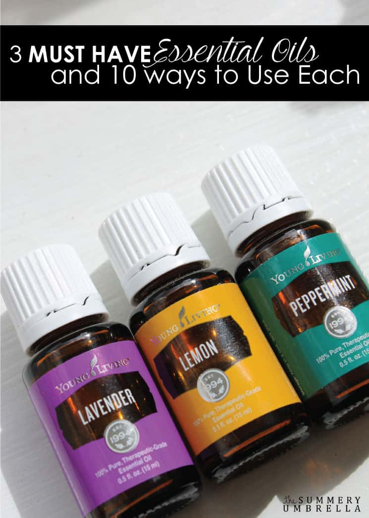 There are so many different essential oils out there that you can choose from. However, these 3 are your MUST HAVE essential oils for every day!