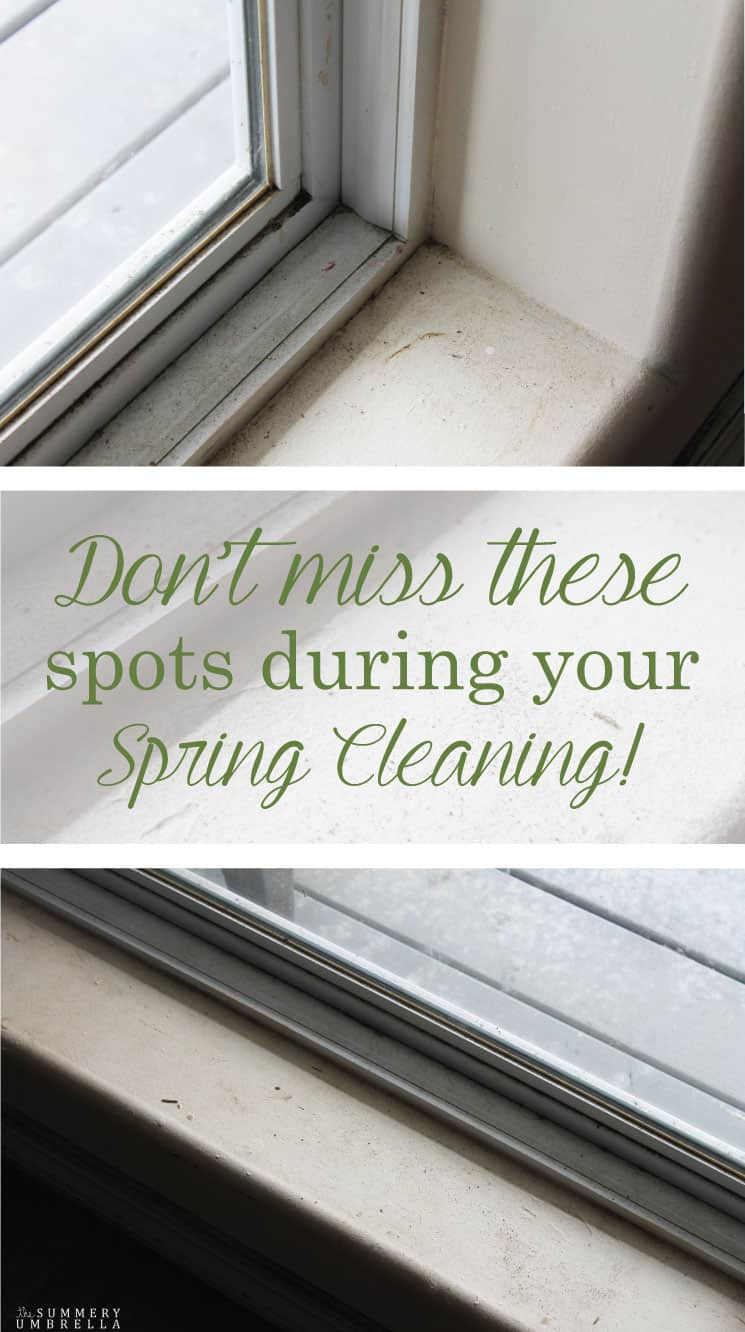 You will definitely NOT want to miss these spots during your spring cleaning! I am letting it all hang out in this post, and how to fix these problem areas.