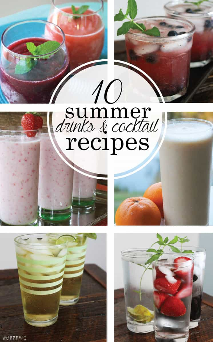 10 of my favorite summer drinks that range from energizing to night-enhancing, but don't just take my word for it.