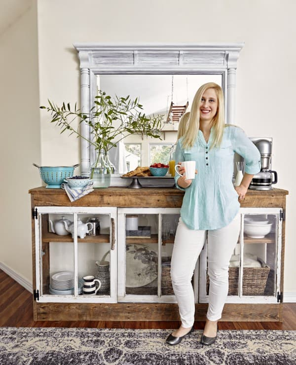 Check out my post over on the BHG Style Spotters page on how I made my reclaimed coffee station. New details revealed just for YOU!