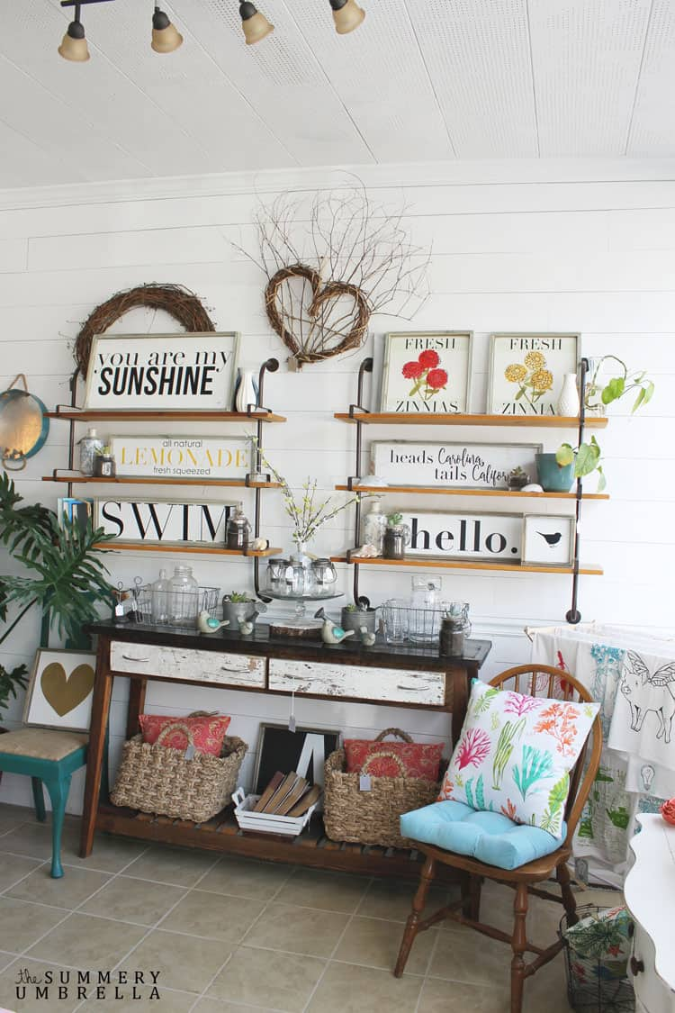 Do you live too far away to drop by? Don't worry! Stop by the blog today, and check out our brick and mortar shop update with lots of eye candy!