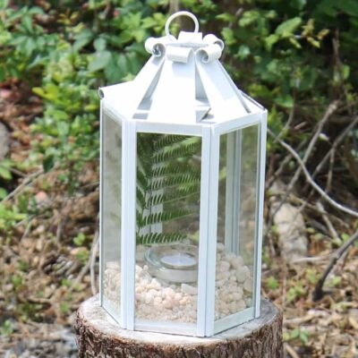 DIY Lantern Makeover Using Every Day Supplies