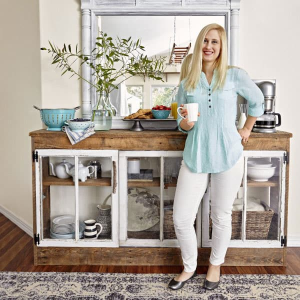 BHG Style Spotters: Reclaimed Coffee Station