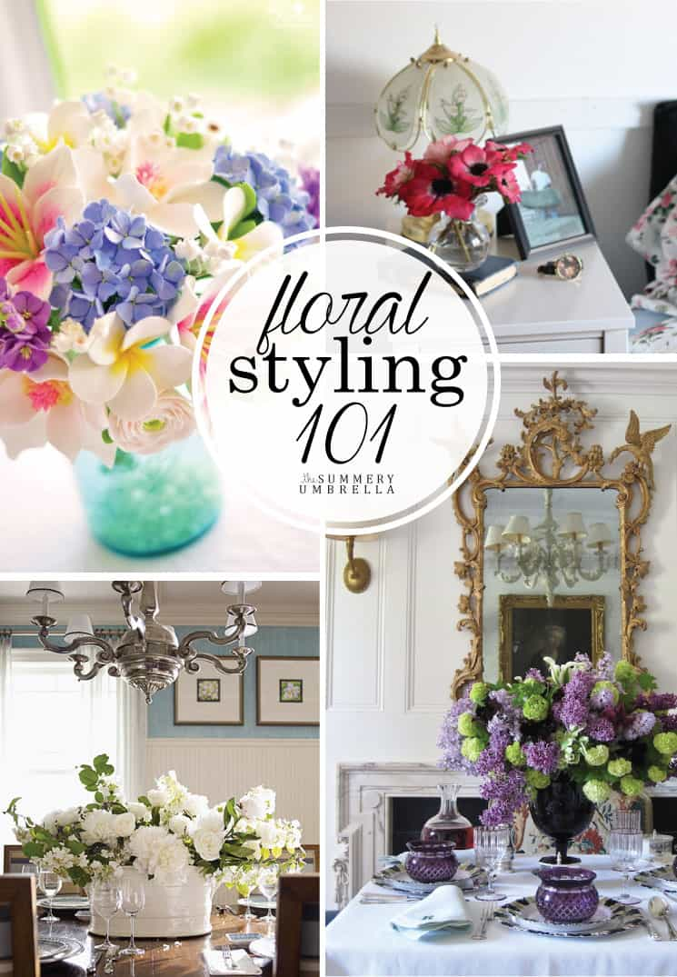 Designing a beautiful centerpiece doesn't have to be hard. Check out how with these Floral Styling 101 Tips for Creating a Stunning Summer Arrangement!