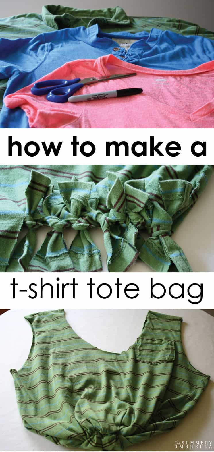 Hands down, this is the EASIEST way to make any kind of t-shirt tote bags! Trust me, you will WANT to see how to create your very own bag the right way.