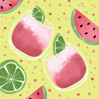 Delicious and Refreshing Watermelon Spritzer Recipe