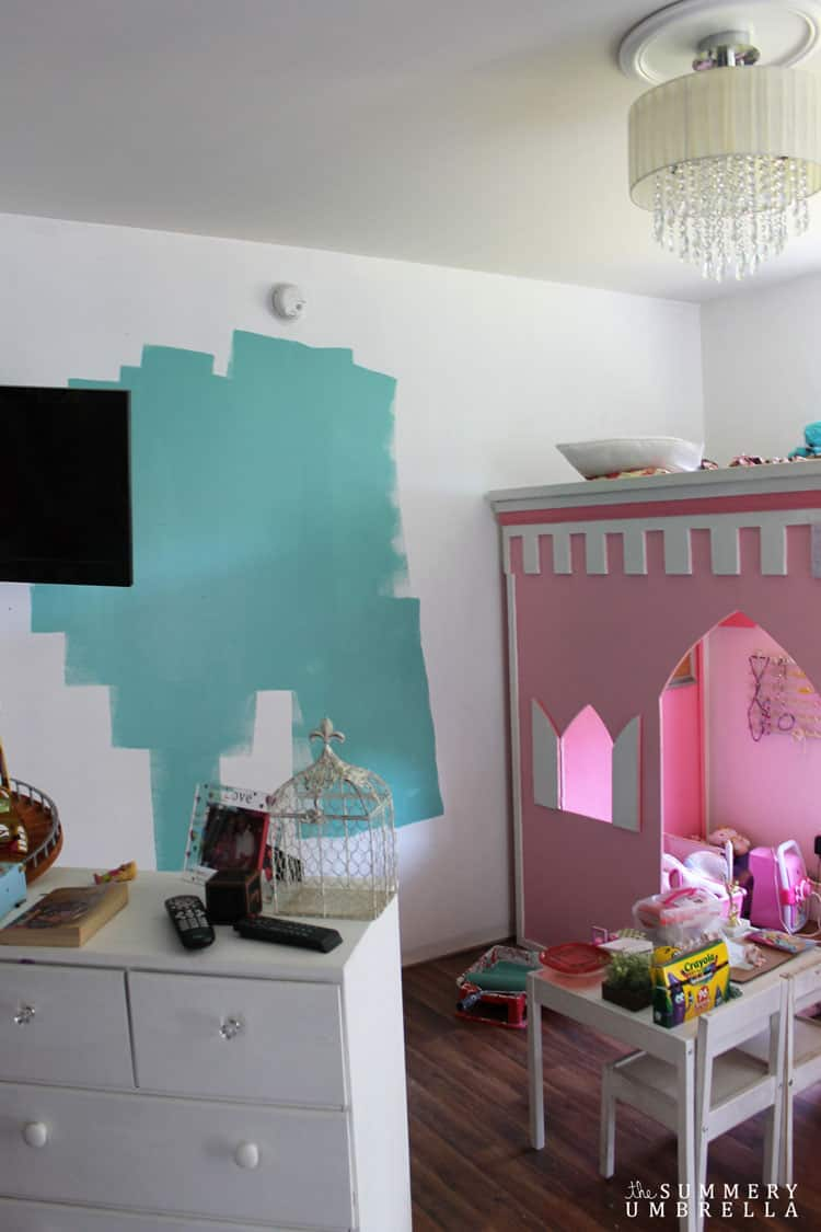 princess-loft-bed-makeover