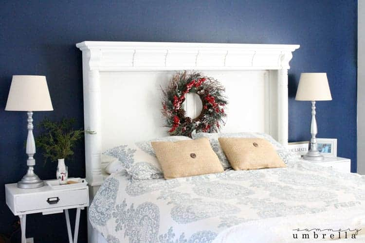 Easy Christmas Bedroom Decor : Beautiful and simple holiday bedroom decor the summery