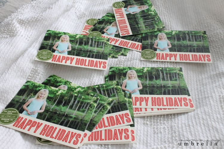 Do you send out holiday cards? Trust me, this year you are going to want to after you see these gorgeous Custom Holiday Cards and Stamp options!