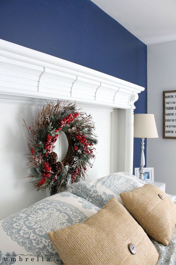 diy christmas bedroom decor