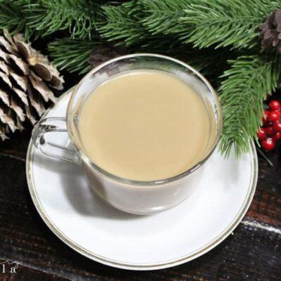 Easy Eggnog Coffee