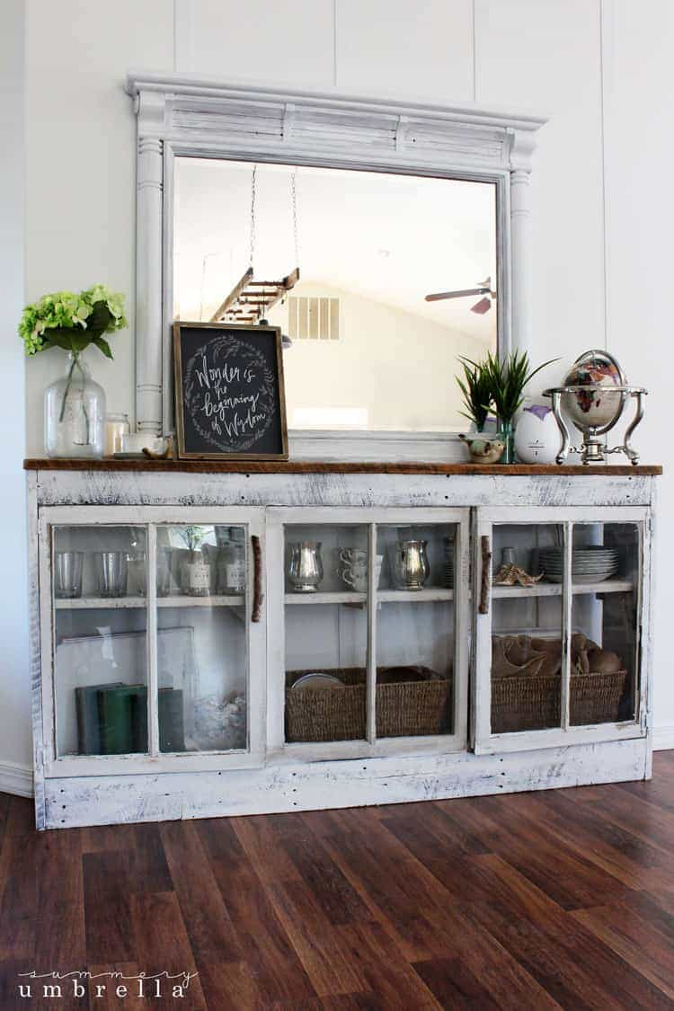 I say it all the time, but I'm going to say it again. I love the power of paint! I decided to give my rustic coffee station a makeover, and I'm in love.