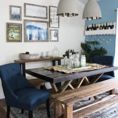 Rustic Dining Room Update