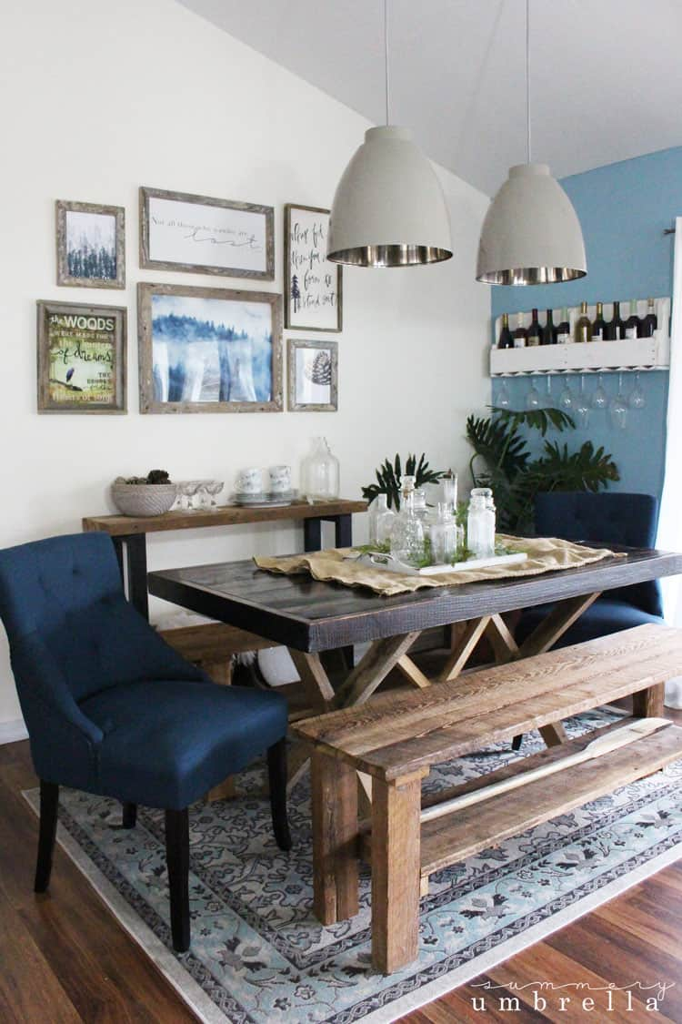 Beau Rustic Dining Room Update