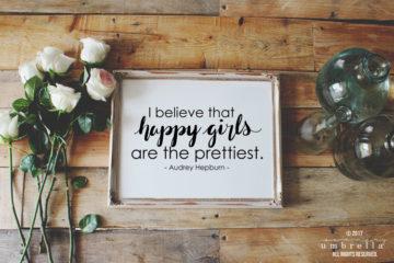 happy girls vector