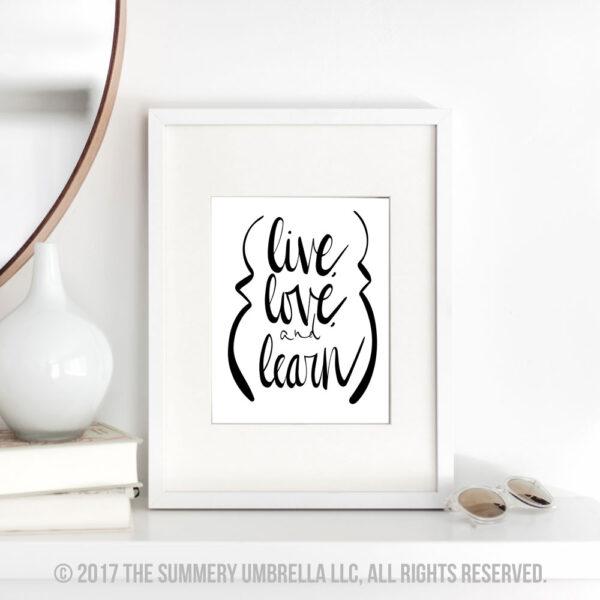 live love quote