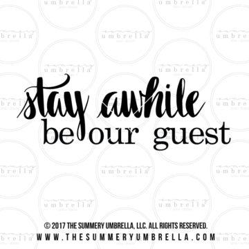 diy guest bedroom sign