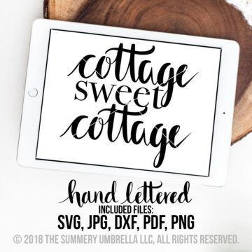 cottage sweet cottage