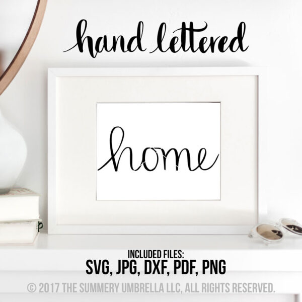 home vector file