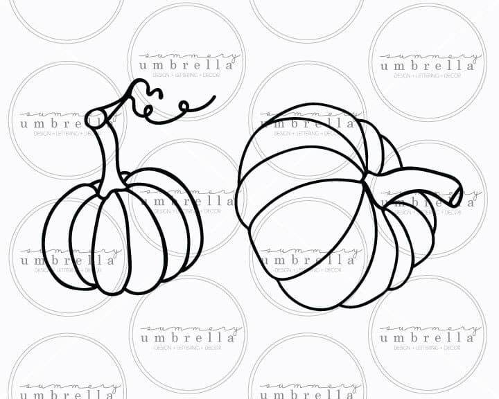 pumpkins svg