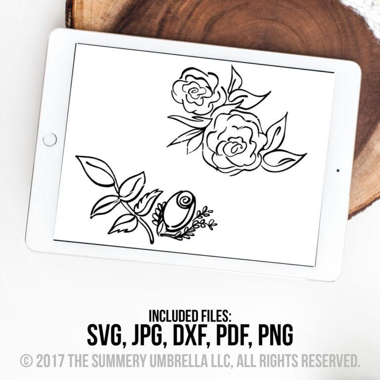 roses svg