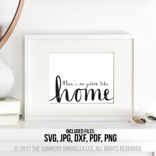 there's no place like home svg
