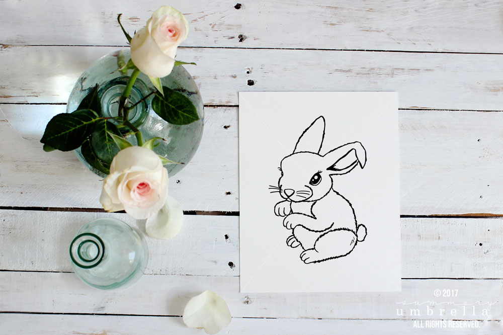 Easter Cut Files, Bunny Ears SVG, Bunny, Hoppy Easter, Happy Easter, SVG, Cut File, Easter Cut File, Hoppy Easter Cut File, Silhouette CAMEO