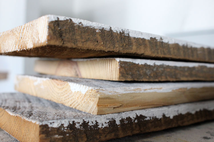 how to clean and prep wood