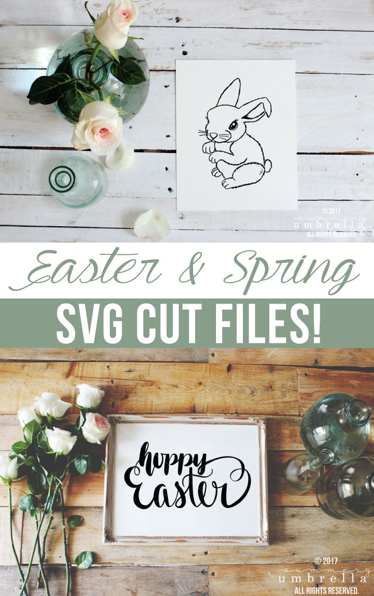 Looking for some new Easter Cut Files for a project for the upcoming holiday? Then, you're in luck! Check out these new beauties that are now in the shop!