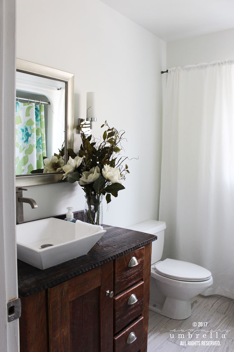 Simple guest bath remodel master bath ideas pinterest i for Guest bathroom remodel ideas