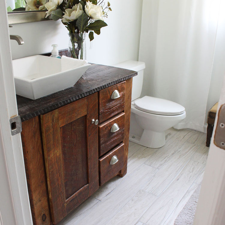 Before and After Guest Bathroom
