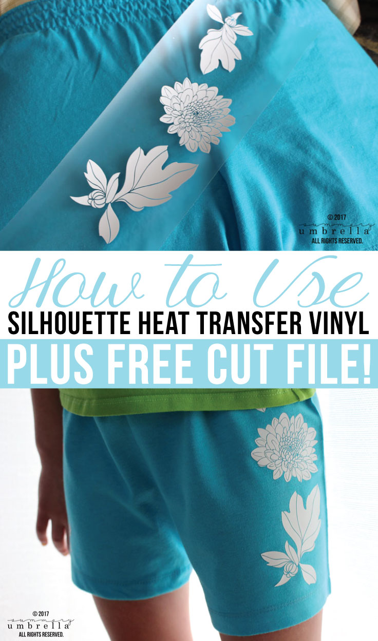 Have you always wanted to learn how to use heat transfer vinyl with fabric? Then you're in luck because today's tutorial is the one for you!