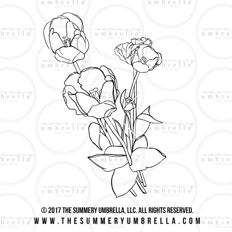 tulip svg