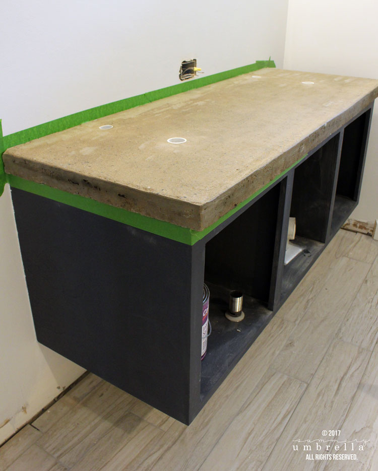 DIY concrete countertops the easy way