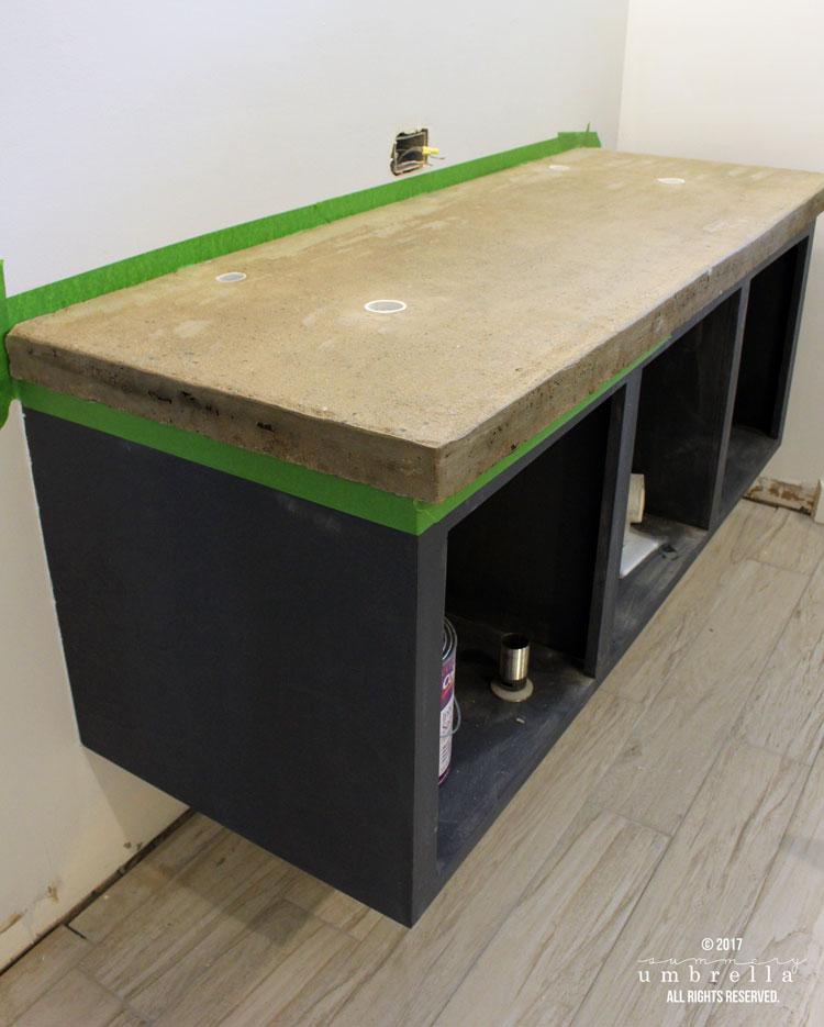 DIY concrete countertops the easy way
