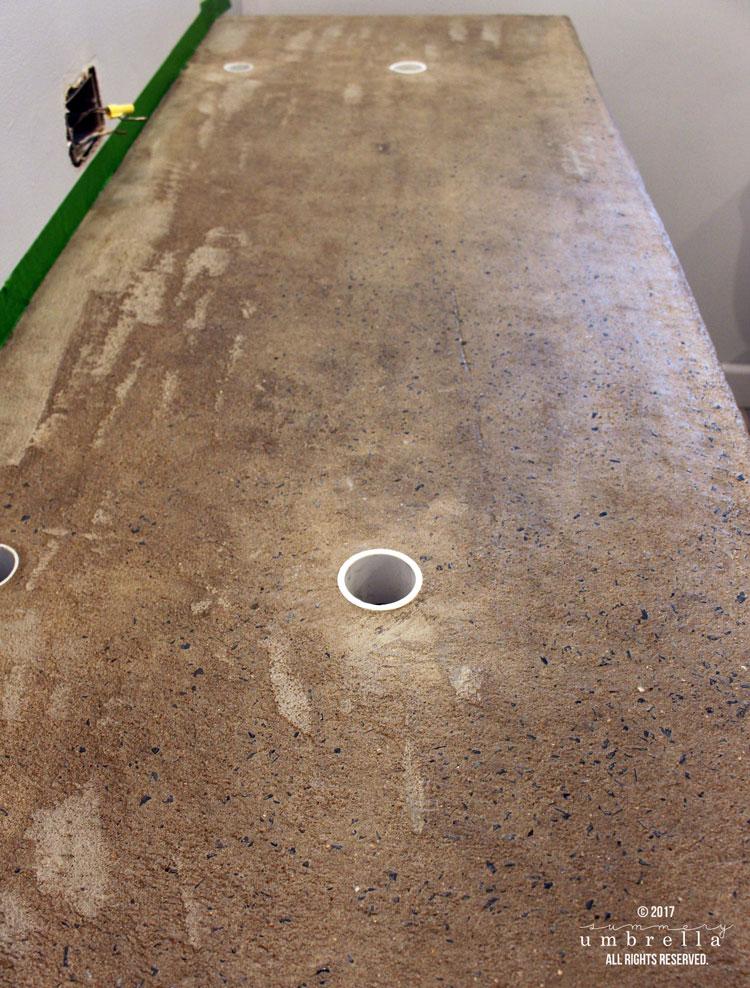 concrete countertops diy
