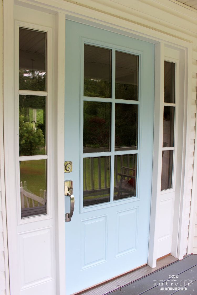 Merveilleux How To Paint Your Metal Front Door The Easy Way