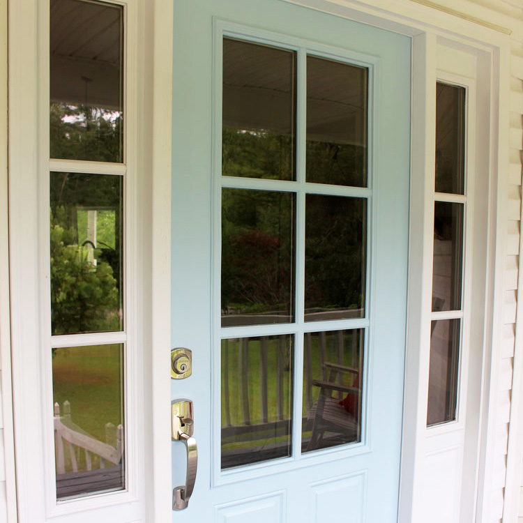 How to Paint Your Metal Front Door the Easy Way