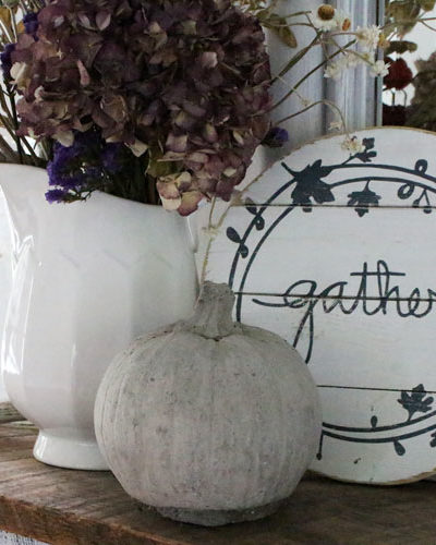 gather wood fall sign