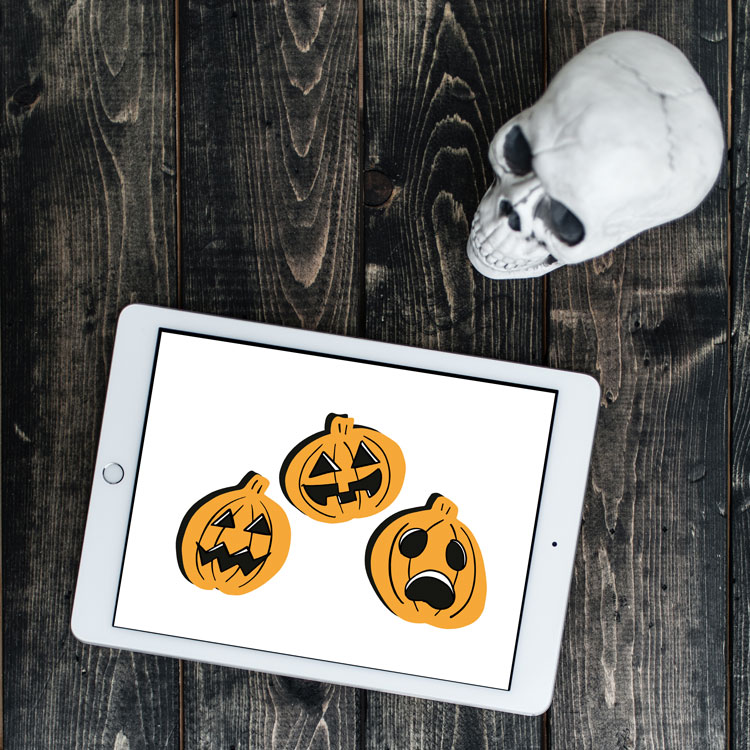 halloween pumpkin svg