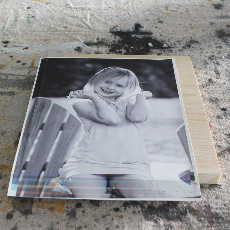 The Easiest Image Transfer Method (to Wood) Using Your Fave Photos
