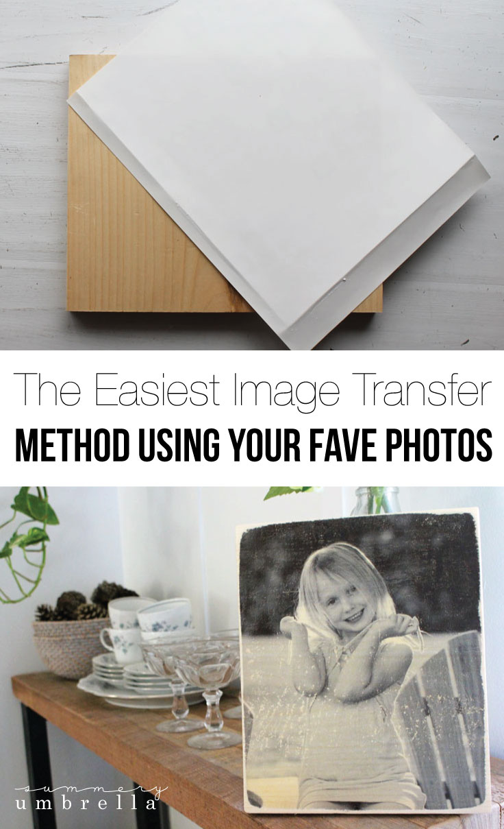 This is not another wax paper image transfer to wood tutorial! This method is by far the easiest that you'll ever used. Trust me--check it out for yourself!