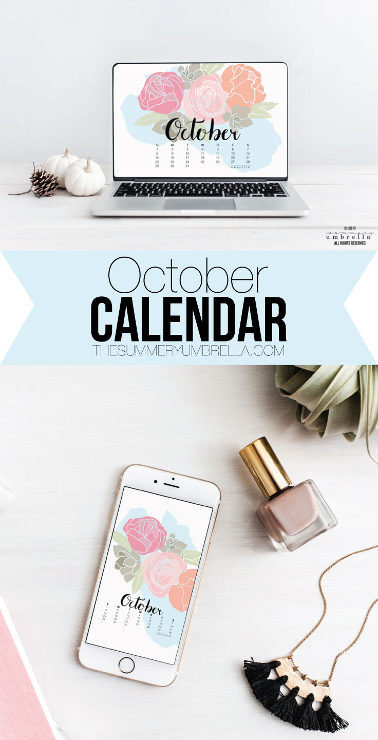 Can you believe that September has already come and gone? That's ok though, because hello October calendars! Love this design? Join The Studio for even more exclusive content and designs just like this!