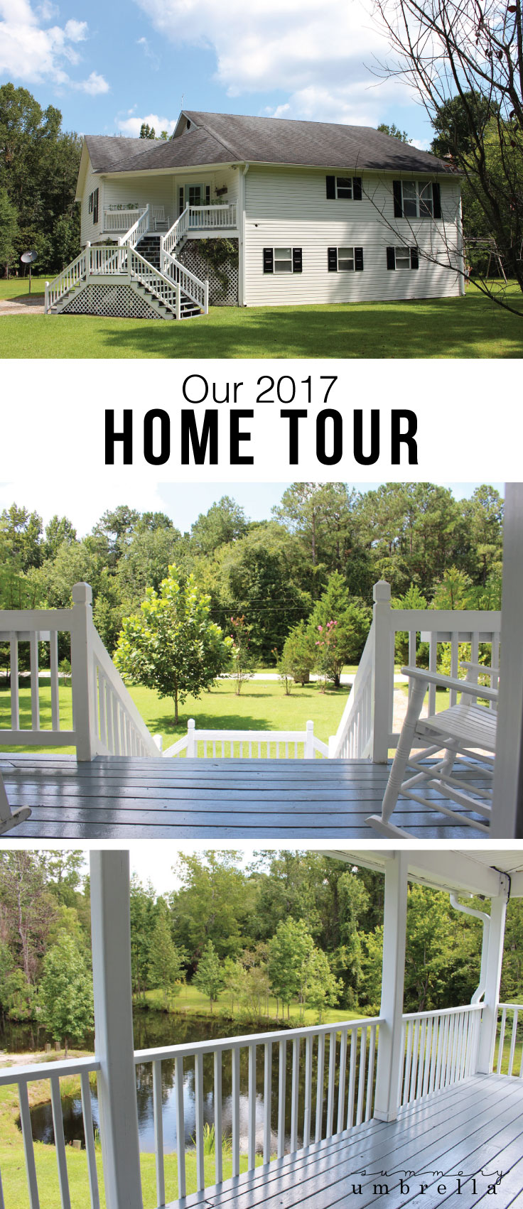 It's time to take one last look at our gorgeous home before I introduce our brand new one. So, let me take you on the before and after home tour where it all began! #homedecor #hometour #homerenovations