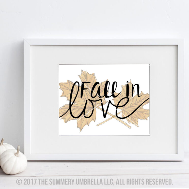 Fall in Love vector