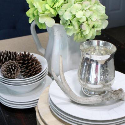 Clean and Simple Hydrangea Flower Arrangement
